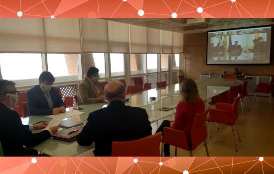 IMG La UCA y la Asamblea de Pueblos de Eurasia firman convenio de voluntariado internacional