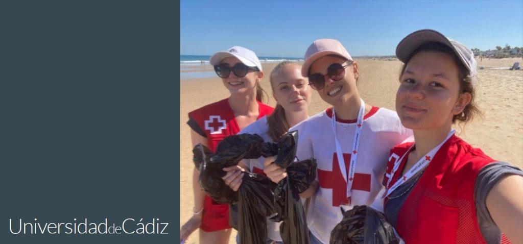 Las primeras voluntarias rusas comparten sus experiencias en Cádiz